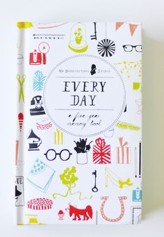 mr. boddington's Every Day Five-Year Memory Book from chronicle books: a giveaway. / sfgirlbybay