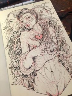 Art Sketches, Art Drawings, Character Art, Character Design, Sketchbook Pages, Sketchbook Inspiration, True Art, Figurative Art, Art Inspo