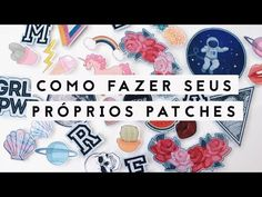 10 DIY Cute Patches with 10 Different Techniques | Pin/Badge/Patch for Clothes | Venezia Lowis - YouTube