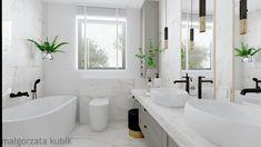 Moda na białe łazienki trwa – ONA I ON W ŁAZIENCE