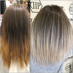 """4,573 Likes, 59 Comments - Hair By Nikki O (@hairbynikkio) on Instagram: """"Transformation Tuesday ✔️✔️ From brassy unruley over grown hair to icy white with a fresh and edgy…"""""""