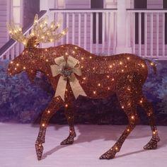 Find The Everstar Glittering Copper Moose Sculpture By At Mills Fleet Farm Has