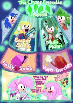 Power Up Sonic Underground by Emmer.deviantart.com on @deviantART