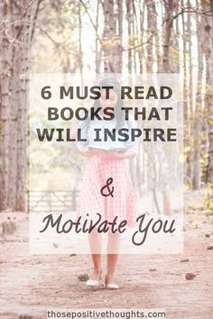 I'm a huge fan of self-development books. The inspiration, ideas and advice they provide all benefit my personal growth journey. Whatever I learn, I always find the read to be enlightening. Here are six books which will inspire and motivate you.