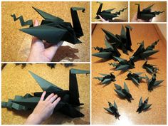 Dragon Family Origami Project :)