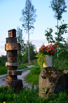 Mökkitie  murajantila.blogspot.com