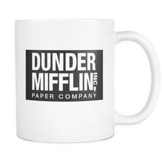 "Limited Edition - ""Dunder Mifflin (The Office)"" 11oz Mug"