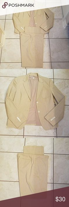 J Crew Womans Suit J Crew womans suit... Only worn a few times... In perfecr... Condition... Pants are straight leg... J. Crew Pants Straight Leg