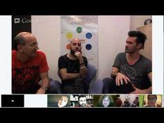 negramaro - l'HANGOUT su GOOGLE+!  Giuliano Sangiorgi e Andrea Mariano dei negramaro incontrano i fan. Modera Luca De Gennaro. Google Hangouts, Fan, Hand Fan