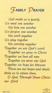 Image result for prayers for family problems