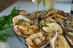 How amazing do these oysters look!? Via Half Shell Oyster House of Hattiesburg MS