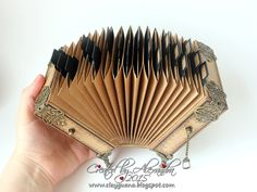 Hello dear friends!   Thank you so much for your comments on the Accordion Pockets Album , which I posted yesterday.   My second version of...