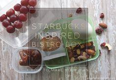 Make Your Own Starbucks Inspired Bistro Box - Amanda Kraft Wellness