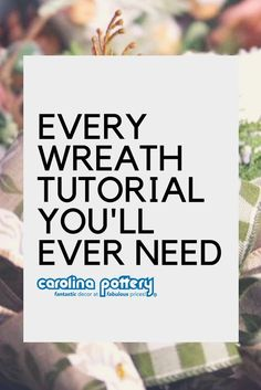 Every Wreath Tutorial You'll Ever Need : wreath tutorial, Carolina Pottery, top wreath tutorials, mesh wreath tutorial, ribbon wreath tutorial Ribbon Wreath Tutorial, Mesh Ribbon Wreaths, Christmas Mesh Wreaths, Deco Mesh Wreaths, Fall Wreaths, Floral Wreaths, Burlap Wreaths, Prim Christmas, Christmas Bows