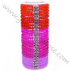Bracciale perline Rosa-Corallo-Lilla | Glamour in Rose