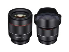 Samyang has announced its first autofocus lenses. The 14mm F2.8 and 50mm F1.4 are designed for full-frame Sony E-mount cameras and will be available in July. Learn more