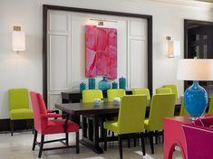 contemporary dining room by John David Edison Interior Design Inc.