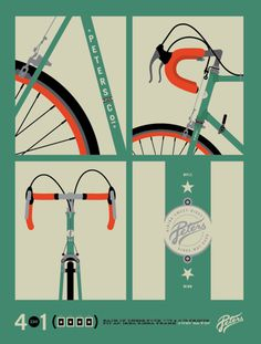 Artcrank 2011 Process, Allan Peters Advertising and Design. I really enjoy the colors and the level of sophistication in their design choices.
