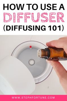 How to Use an Essential Oil Diffuser; Why diffuse? How long for? How many drops? How do i use it Diffuser blends and more! Essential Oil Inhaler, Essential Oils Room Spray, Essential Oil Diffuser Blends, Doterra Essential Oils, Aromatherapy Diffuser, Perfume Atomizer, Carrier Oils, Natural Oils, Wellness