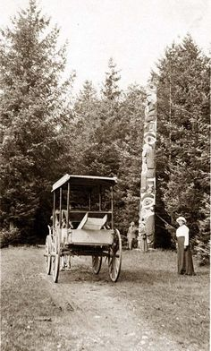 You are viewing an unusual image of Totem pole. It was taken in between ca. 1900 and ca. 1930.
