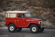1978 Toyota Land Cruiser FJ40 :: desertmotors