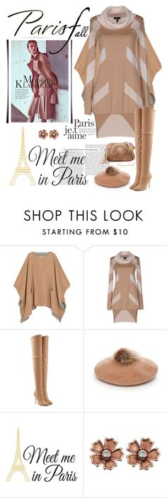 """I Love Paris in the Fall"" by ragnh-mjos ❤ liked on Polyvore featuring MICHAEL Michael Kors, byblos, Balmain, Collection XIIX and Wall Pops!"