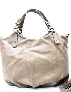 Made in Italy* Shopper, Leder, Taupe