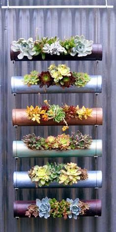 Modular Cylinder Planters