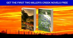Happy Saturday! Just wanted to let you know the following: Free western Christian contemporary fiction * TEXAS ROADS -  #free for #Kindle & #Nook: http://www.amazon.com/Texas-Roads-Millers-Creek-Novel-ebook/dp/B00480OH1G/ref=as_sl_pc_ss_til?tag=cathbrya-20&linkCode=w01&linkId=HBHQHMH7YDMZ6ZUI&creativeASIN=B00480OH1G ~ http://www.barnesandnoble.com/w/texas-roads-cathy- * A PATH LESS TRAVELED - #free for Miller's Creek reader's group: http://catbryant.us4.li Both rated at 4.5 stars or higher.
