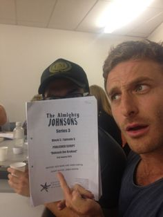 The Almighty Johnsons - Dean as Anders Johnson