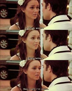 Gossip Girl. ❤ I die inside every time