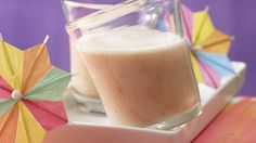 Buttermilch-Smoothie mit Melone