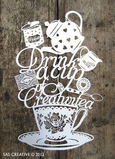 Samantha's Papercuts - http://sascreative.blogspot.co.uk/ #creativethinker #letshaveateaparty