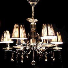Kronleuchter mit lampenschirm auf pinterest for Kronleuchter mit lampenschirm