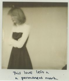 Taylor Swift 1989 Polaroid Photoshoot