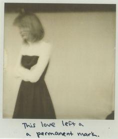 Taylor Swift 1989 Polaroid Photoshoot