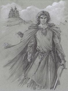 """""""Ever cold. Ever watchful"""" Maedhros as Lord of Himring, his citadel in the Northeast of Beleriand, facing Morgoth's fortress of Angband. From The Silmarillion by J. R. R. Tolkien."""