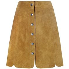 Isabel Marant Étoile Tan Suede Anna Mini Skirt ($180) ❤ liked on Polyvore featuring skirts, mini skirts, a line skirt, tan suede mini skirt, a line mini skirt, short a line skirt and tan suede skirt