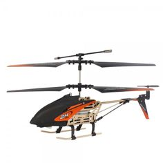 HammerHead Alloy Pro Series 3 Channel 3 CH 2.4GHz RC Helicopter Black & Orange