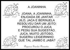 Parlenda da Joaninha