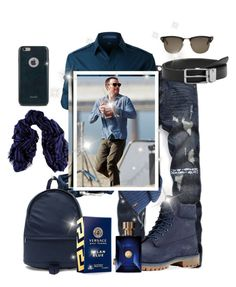 """Untitled #3299"" by princhelle-mack ❤ liked on Polyvore featuring LE3NO, MIANSAI, Timberland, A.P.C., MANGO, Polo Ralph Lauren, Versace, Tom Ford, Moshi and Black"