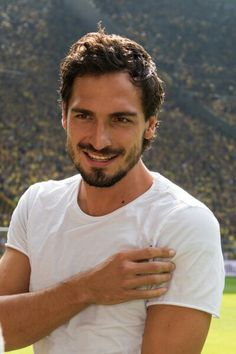 I bet God was in a very good mood when He created Mats Hummels