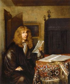 Portrait of a Man Reading - Gerard ter Borch  1675