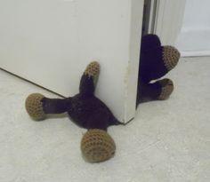 Ravelry: Doggie Door Prop A Crochet Pattern pattern by Carla Scull