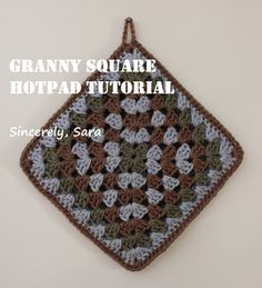 In my last post I showed you a couple of hotpads that I have been working on. Although basic, it's a pattern I worked up on my own, drawing from my limited crocheting knowledge. As a result I…