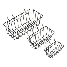 Everbilt Peggable Wire Baskets (3-Pack)-17960 - The Home Depot