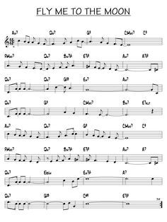 Partition gratuite Fly me to the moon, Free jazz scores Free Clarinet Sheet Music, Trumpet Sheet Music, Jazz Sheet Music, Saxophone Music, Free Sheet Music, Piano Music, Free Jazz, Louis Armstrong, Partitions Saxophone