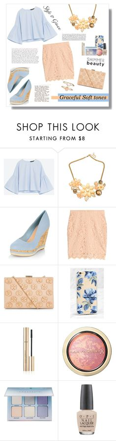 """Grace"" by artistic-biscuit ❤ liked on Polyvore featuring Volant, New Look, H&M, Sonix, Dolce&Gabbana, Max Factor, Anastasia Beverly Hills, OPI and Accessorize"