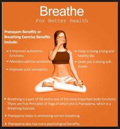 Benefits Of Pranayama Yoga Or Breathing Exercise & Its Different . Benefits of Pranayama or Breathing Exercise & Its Different yoga breathing exercises - Yoga Yoga Breathing Exercises, Yoga Exercises, Yoga Breathing Techniques, Yoga Mantras, Pilates, Qi Gong, Benefits Of Exercise, Health Benefits, Yoga Benefits