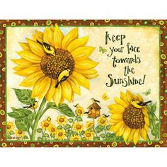 Lang Sunflowers Boxed Note Cards, Multicolor Looking for a great way to show appreciation in letter form? Sunflower Quotes, Sunflower Pictures, Sunflower Art, Summer Bulletin Boards, Sunflower Bulletin Board, Happy Monday Quotes, Thursday Quotes, Sunflowers And Daisies, Sun Flowers